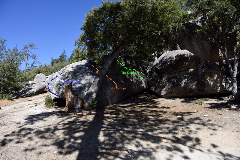 Rock Climbing Photo: Scoops Boulder