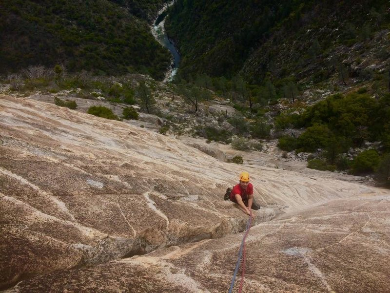Rock Climbing Photo: bald dome in the bag