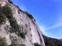 Rock Climbing Photo: The silly pinnacle in the foreground and the main ...