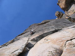 Rock Climbing Photo: The shared start to Road to Zion and Intrepid Voya...
