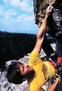 Rock Climbing Photo: Hugh Herr on Foops (5.11), Shawangunks  Photo by S...