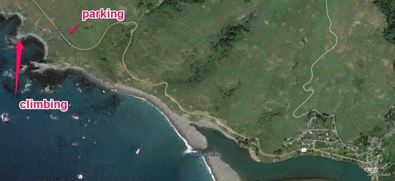 Rock Climbing Photo: correct map