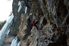 Rock Climbing Photo: Jack Rodat on Godzilla.