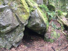 Rock Climbing Photo: Carver Classic V4
