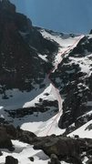 Rock Climbing Photo: Route overview from 4/11/2015. Approximate route i...