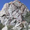 Route topo for The Molar