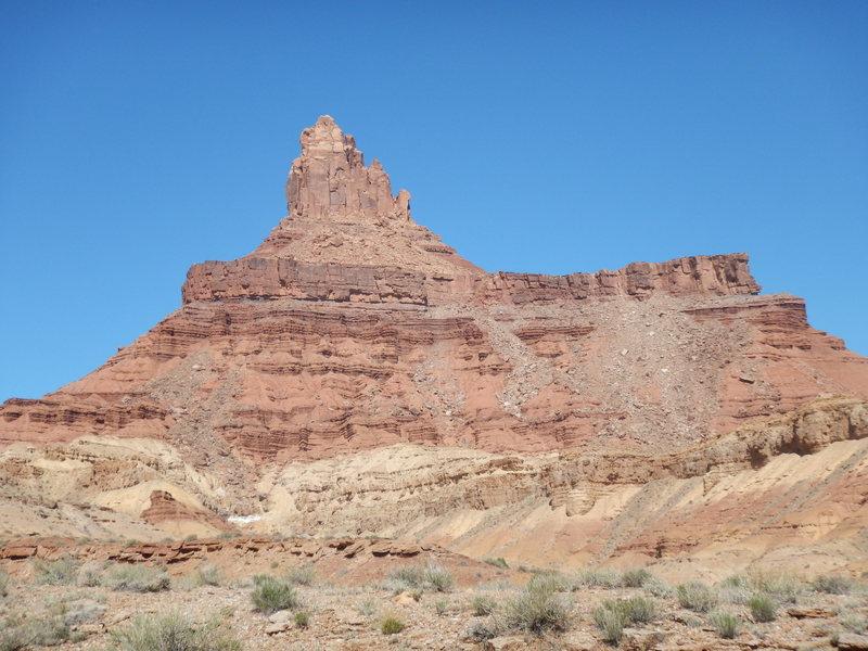 Rock Climbing Photo: South Face of Lone Rock