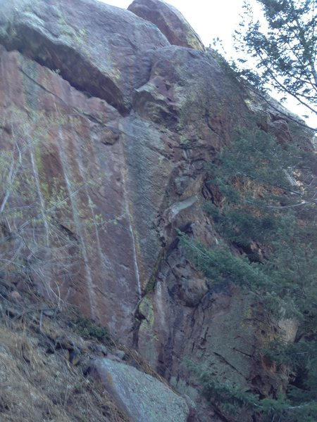 Rock Climbing Photo: Zacchaeus.