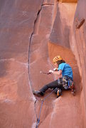 Rock Climbing Photo: Sam typically throws his cams at the wall until th...