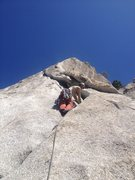 Rock Climbing Photo: Won't be smiling after too long....