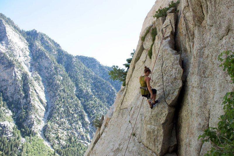 Rock Climbing Photo: 'Goodro's Happy Dream' for Jorden
