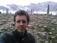 Rock Climbing Photo: Rained out of Ruth Lake with Hayden Peak behind me...