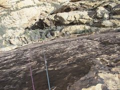 Rock Climbing Photo: Mike, p2