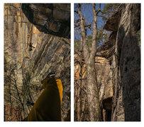 Rock Climbing Photo: Rapping into Fantasy Area