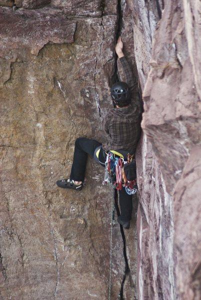 Rock Climbing Photo: Photo Credit: Juan Gonzalez  Working for the hand ...