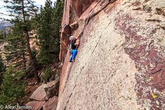 Rock Climbing Photo: Thanks to Alex Jansen who snapped this photo on Sa...