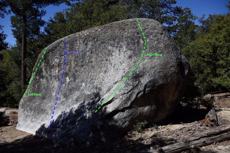 The Wave boulder