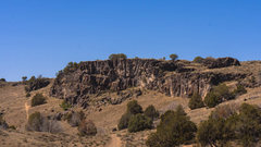Rock Climbing Photo: Right Light District Wall