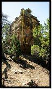 Rock Climbing Photo: Dreadnaoghtus problem beta.