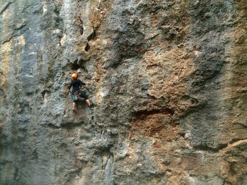 Rock Climbing Photo: judge jules
