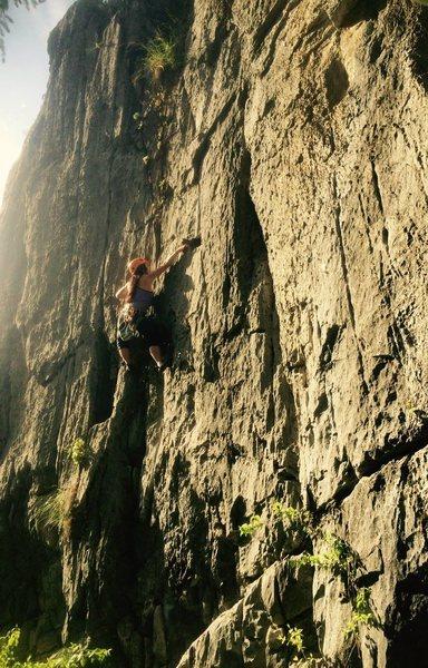 Rock Climbing Photo: after work glow
