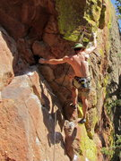 Rock Climbing Photo: Jimmy Menendez on Tribal Boundaries.