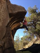 Rock Climbing Photo: Wave Boulder, Gods Hand v5