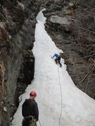 Rock Climbing Photo: Leading P3.
