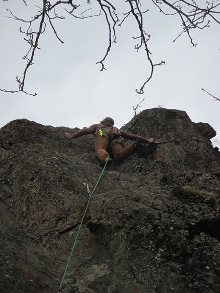 Rock Climbing Photo: At B3