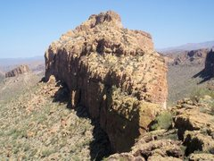 Rock Climbing Photo: Battleship Mountain