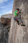 Rock Climbing Photo: Matt Callender crushing Electric Blue.    Photo by...