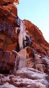 Rock Climbing Photo: Eric Wright.  Photo by Dan Z.