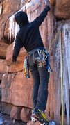 Rock Climbing Photo: Former Telluride ski patroller and current full ti...