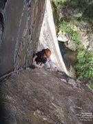 Rock Climbing Photo: Mike, p3