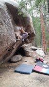 Rock Climbing Photo: Get Over It - 1