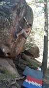 Rock Climbing Photo: Hollows Way - 2