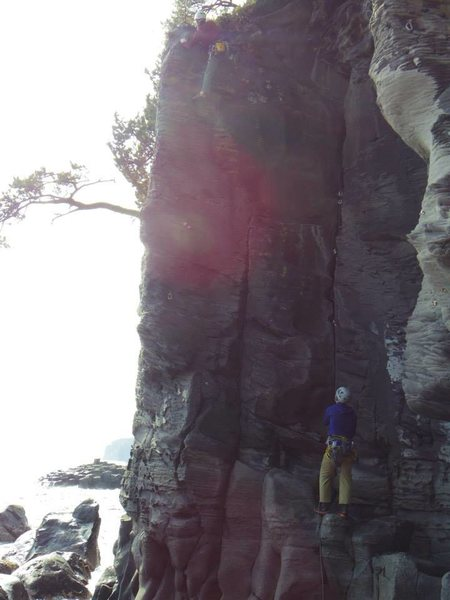 Rock Climbing Photo: Jogasaki, Japan