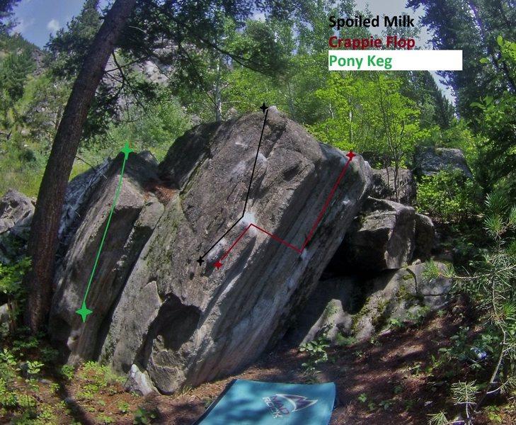 Rock Climbing Photo: Refrigerator Block