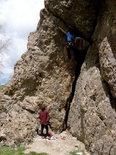 Rock Climbing Photo: The bottom half.