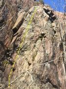 Rock Climbing Photo: Left Route
