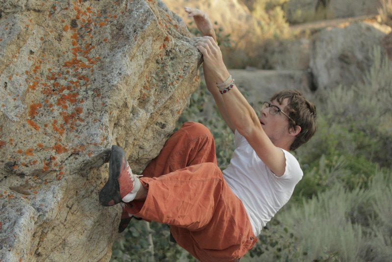 Rock Climbing Photo: The prow, where a lot of routes converge.