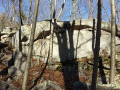 Rock Climbing Photo: Another boulder a little further into the woods.