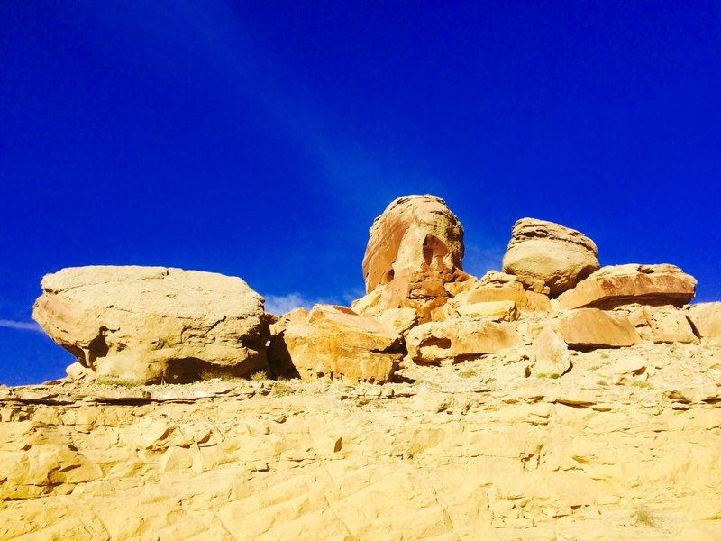 Rock Climbing Photo: Giles Townsite Boulders