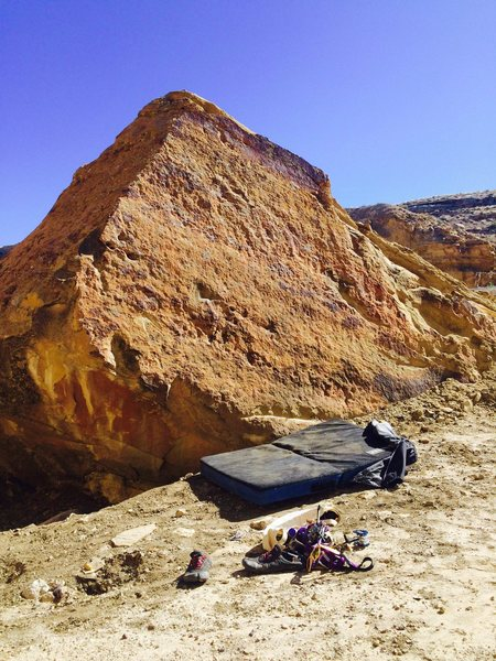 Rock Climbing Photo: West Face of Points Towards Orion(10'). (From left...