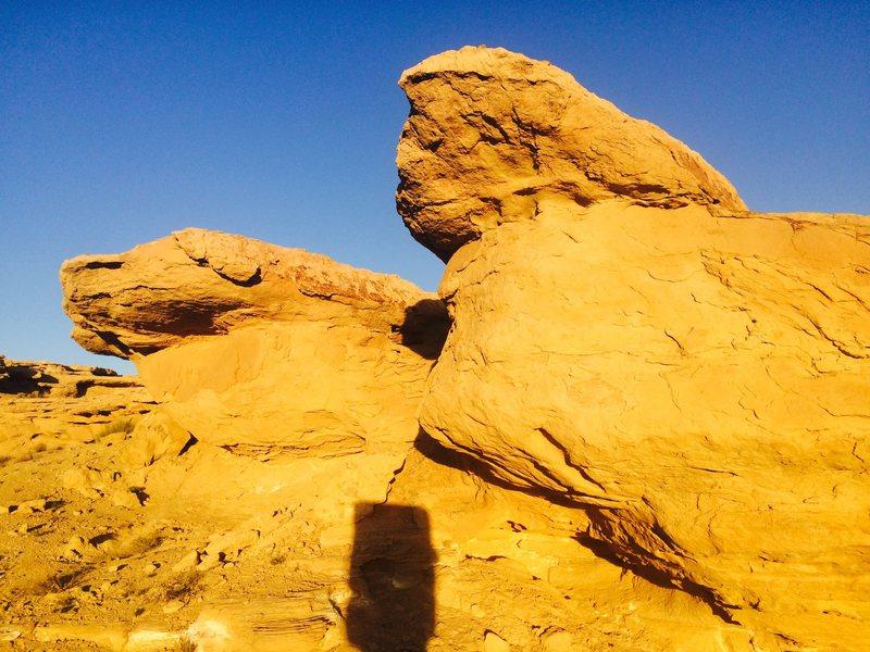Rock Climbing Photo: Flintstone Rock (Boulder)