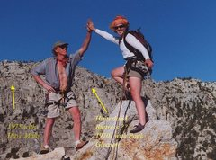 "Rock Climbing Photo: 1970s climbs at ""The Others"" with Dave M..."
