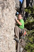 "Rock Climbing Photo: On ""the Buttress"""