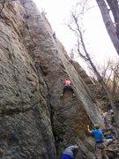 Rock Climbing Photo: Italian Arete.