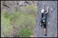 Rock Climbing Photo: another one of this unknown climber cruising...