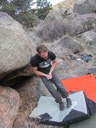 Rock Climbing Photo: Owwww!